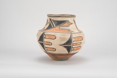 San Ildefonso water jar, c1910