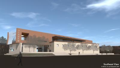 Southeast View, New Mexico Museum of Art Vladem Contemporary