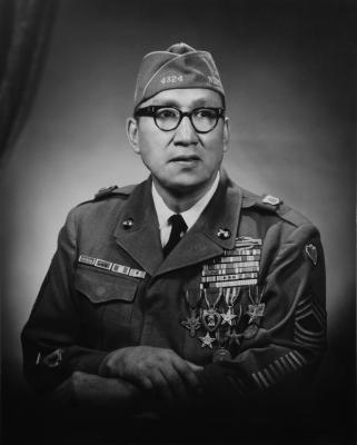 Master Sergeant Woodrow Wilson Keeble