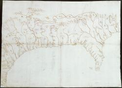 Map of the Mississippi Valley, 1544