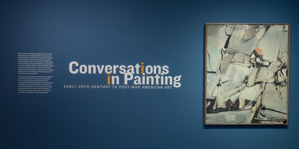 Conversations in Painting, Early 20th Century to Post-War American Art