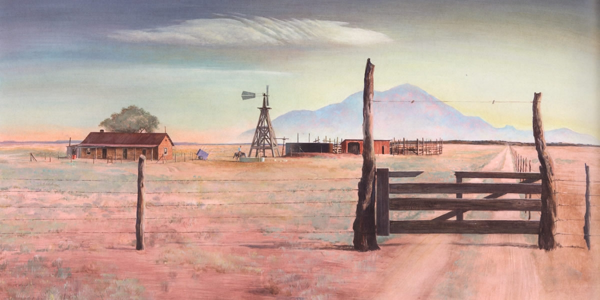 Drawn to the Land: Peter Hurd's New Mexico