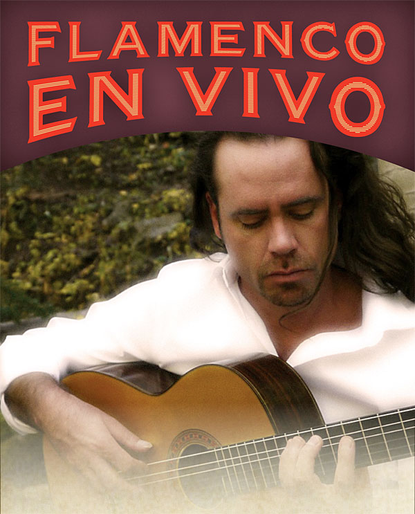 Enjoy live Flamenco guitar music in the exhibition