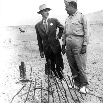 Conant, Oppenheimer and the Atomic Bomb