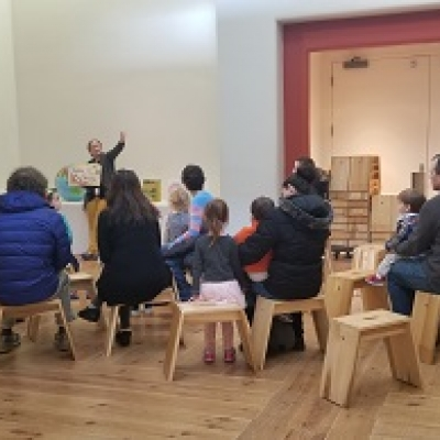 Free virtual Family Mornings at Folk Art Museum