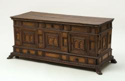 Spanish marriage chest
