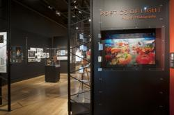 Poetics of Light: Pinhole Photography exhibition installation