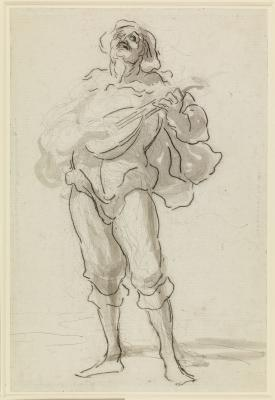 Study for the Troubadour