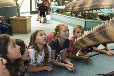 Images(s):  Children enjoy the NM Museum of Natural History and Science Winter Camp Programs Photos: Caitlin Jenkins.