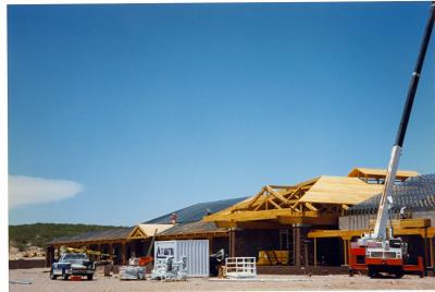 Farm & Ranch Museum under construction