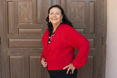 Della Warrior (2018), Photo by: Caitlin Jenkins, Courtesy: NM Department of Cultural Affairs.