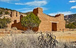 San Jose Mission Church at Jemez Historic Site. Photo courtesy of Richard Hasbrouck