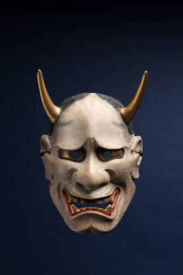 'White Hannya' Nōh Mask