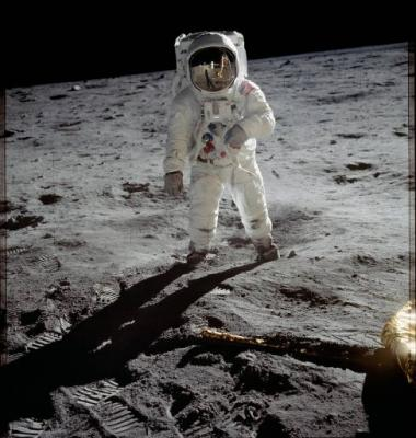 APOLLO 11 Buzz Aldrin NASA Photo
