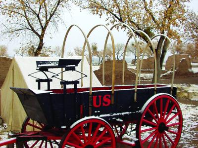 15-nmhs-fort selden wagon in snow