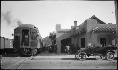 Railroad depot, Silver City, New Mexico