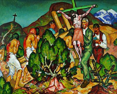 William Penhallow Henderson 'Holy Week in New Mexico'