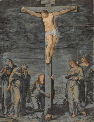 The Crucifixion (Cornelis Cort)