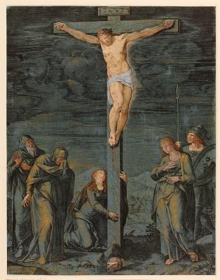 Cornelis Cort The Crucifixion
