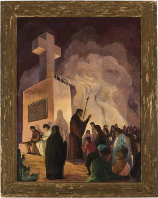 Shuster, Sermon at Cross of the Martyrs, 1934