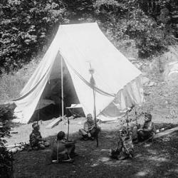 Boys camp at Wyndygoul